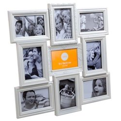 Фоторамка Frame Magic multiple x9 white, Balvi