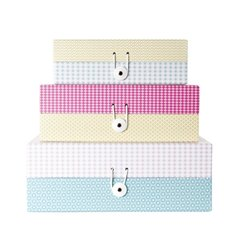 Коробки для хранения Present Time Grid colour I