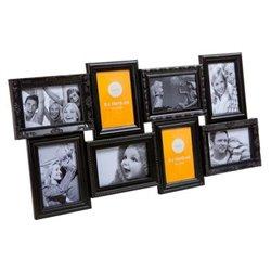 Фоторамка Frame Magic multiple x8 black, Balvi