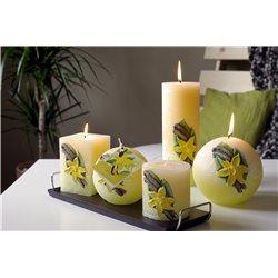 Декоративная свеча Ваниль