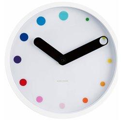 Настенные часы Karlsson Eclipse белые