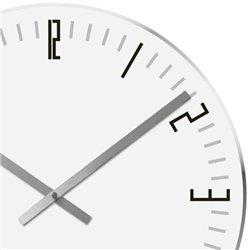 Настенные часы Karlsson Slim Index белые