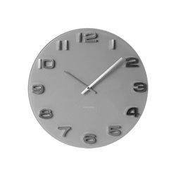 Настенные часы Karlsson Vintage серые
