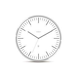 Настенные часы Karlsson NeverLateAgain белые