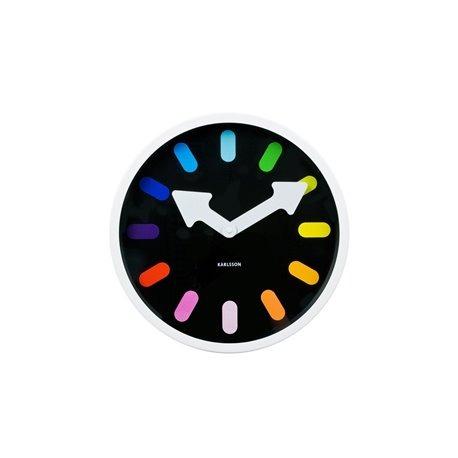 Настенные часы Karlsson Pictogram Rainbow