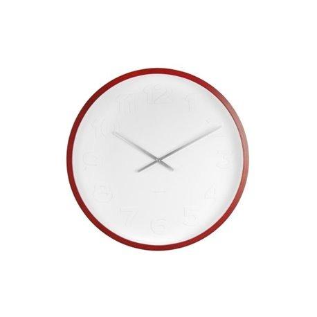 Бесшумные настенные часы Karlsson Mr. White