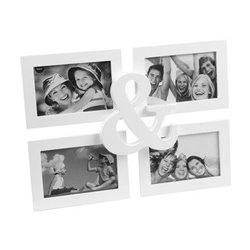 Фоторамка Frame & 4x 13x18 white, Balvi