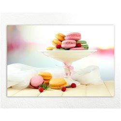 Картина на кухню Macaron