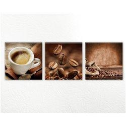 Модульная картина на кухню Кофе