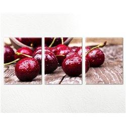 Модульная картина на кухню Cherry