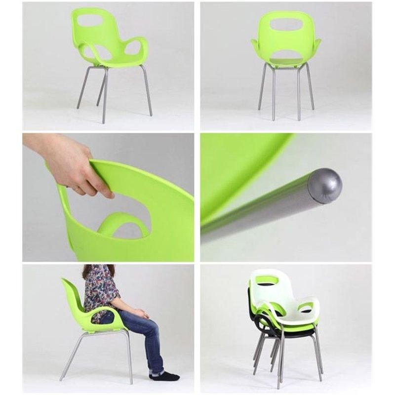 Стул Umbra Oh Chair черный купить в интернет магазине Инриум