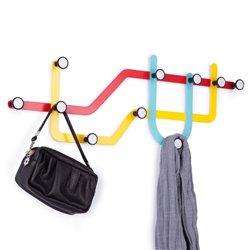 Вешалка Subway разноцветная, Umbra