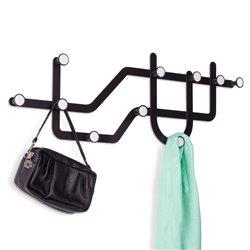 Вешалка для одежды Umbra Subway черная