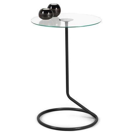 Столик стеклянный Umbra Loop черный