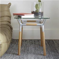 Придиванный столик из Umbra Konnect никель