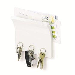 Держатель для ключей Magnetter белый