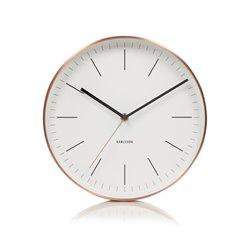 Настенные часы Karlsson Minimal белые