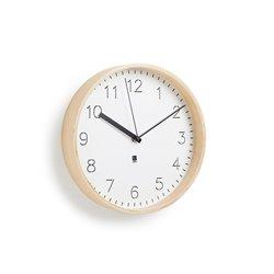 Настенные часы Rimwood белые, Umbra