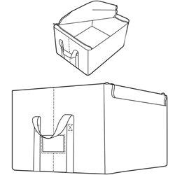 Коробкa для хранения Reisenthel Storagebox M baroque sand