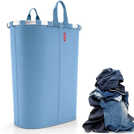 Корзина для белья Ovalbasket L голубая