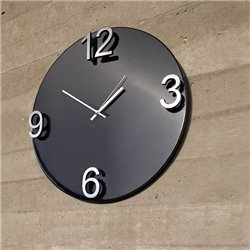 Настенные часы Umbra Elapse черные