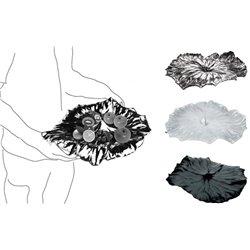 Блюдо A lotus leaf черное, Alessi