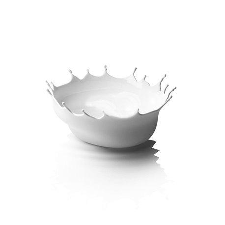 Блюдо Dropp белое