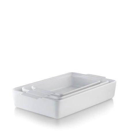 Блюдо для запекания большое белое