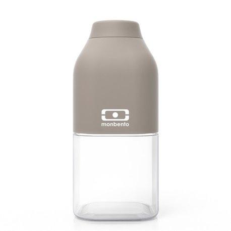 Бутылка MB Positive 0,33 л серая