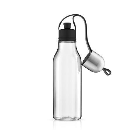 Бутылка спортивная 700 мл чёрная