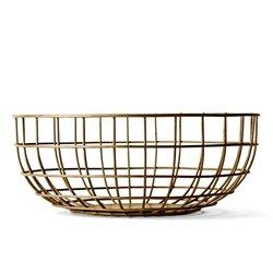 Ваза Norm Wire Bowl медь