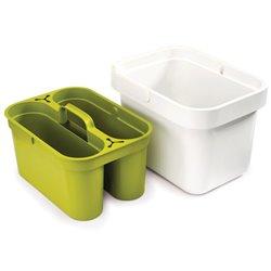 Ведро со съемным контейнером для хранения Clean&Store белое
