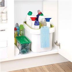 Ведро со съемным контейнером для хранения Clean&Store белое, Joseph Joseph