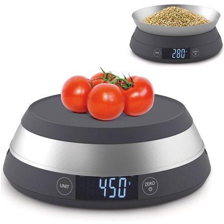 Весы кухонные SwitchScale серые