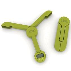 Весы кухонные складные TriScale зеленые, Joseph Joseph