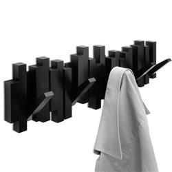 Вешалка настенная Sticks черная, Umbra