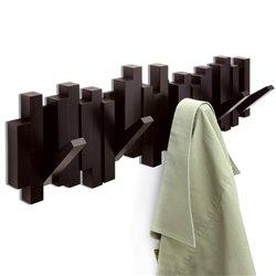 Вешалка настенная Sticks эспрессо, Umbra