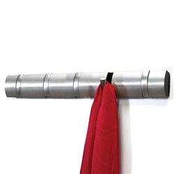 Вешалка настенная Flip 5 крючков никель, Umbra