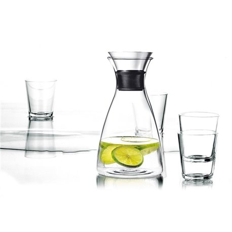 Графин Drip-free 1 л и 4 бокала