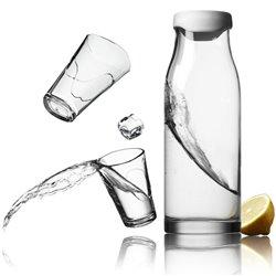 Графин со стаканами Menu белый