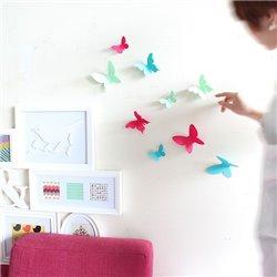 Декор для стен Chrysalis 15 элементов разноцветный, Umbra