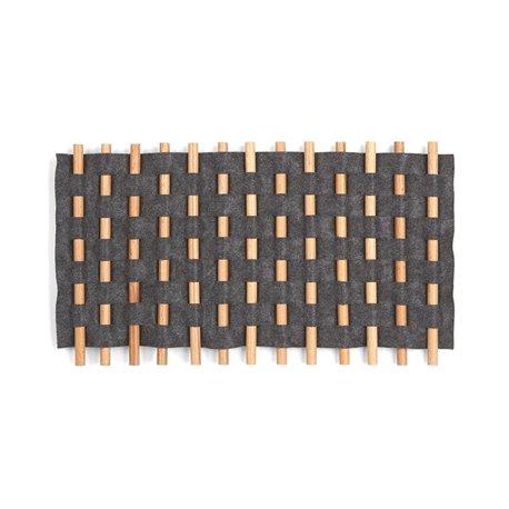 Декор для стен Looma 21X12 черный