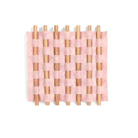 Декор для стен Looma 13x12 см розовый