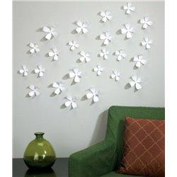 Декор для стен Wallflower 25 элементов белый