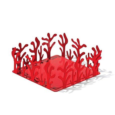 Держатель для бумажных салфеток Mediterraneo красный