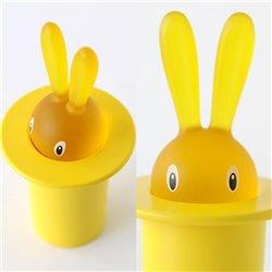 Держатель для зубочисток Magic bunny жёлтый, Alessi