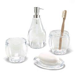 Диспенсер для жидкого мыла Droplet прозрачный, Umbra