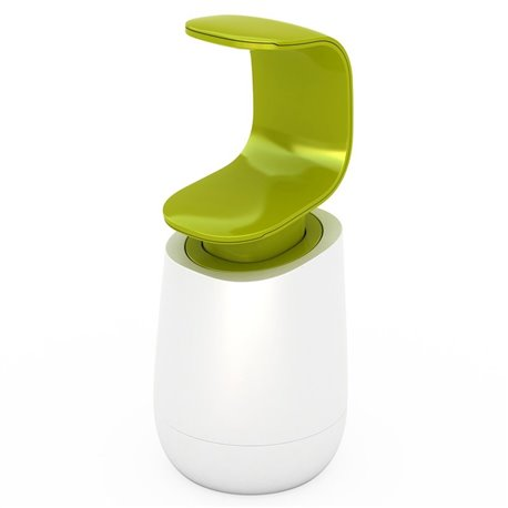 Диспенсер для мыла C-Pump белый/зеленый