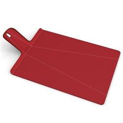 Разделочная доска Chop2Pot™ Plus большая красная, Joseph Joseph