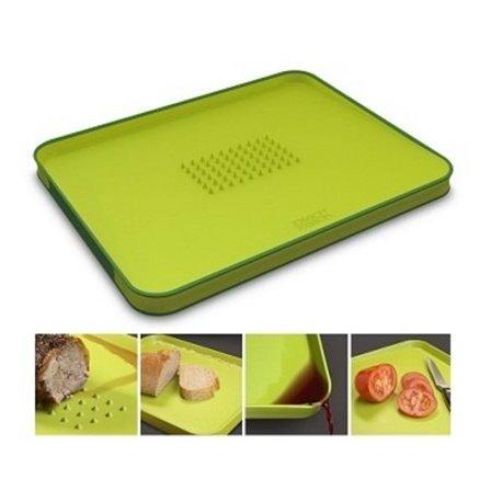 Доска разделочная Cut&Carve™ Plus двухсторонняя малая зеленая